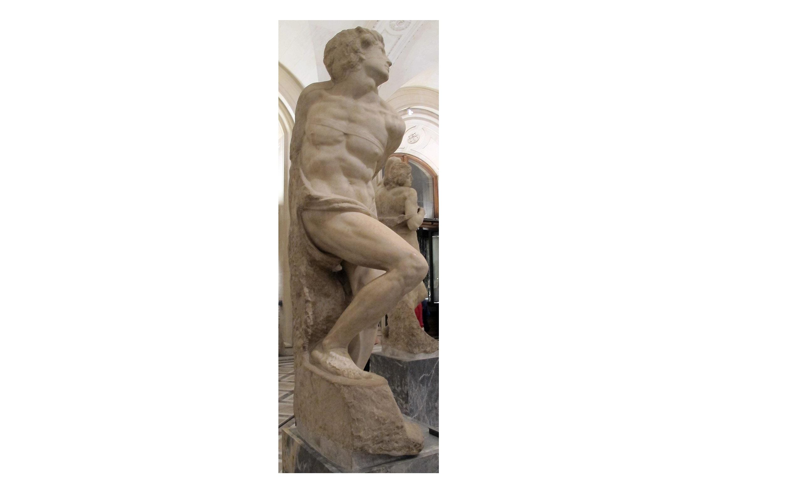 L'esclave rebelle de Michel-Ange, une métaphore de la sculpture