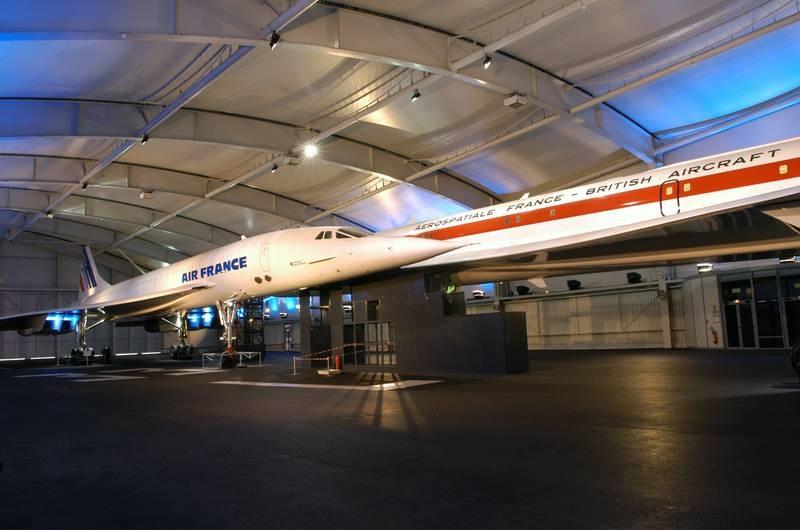 Concorde vs. Boeing 747