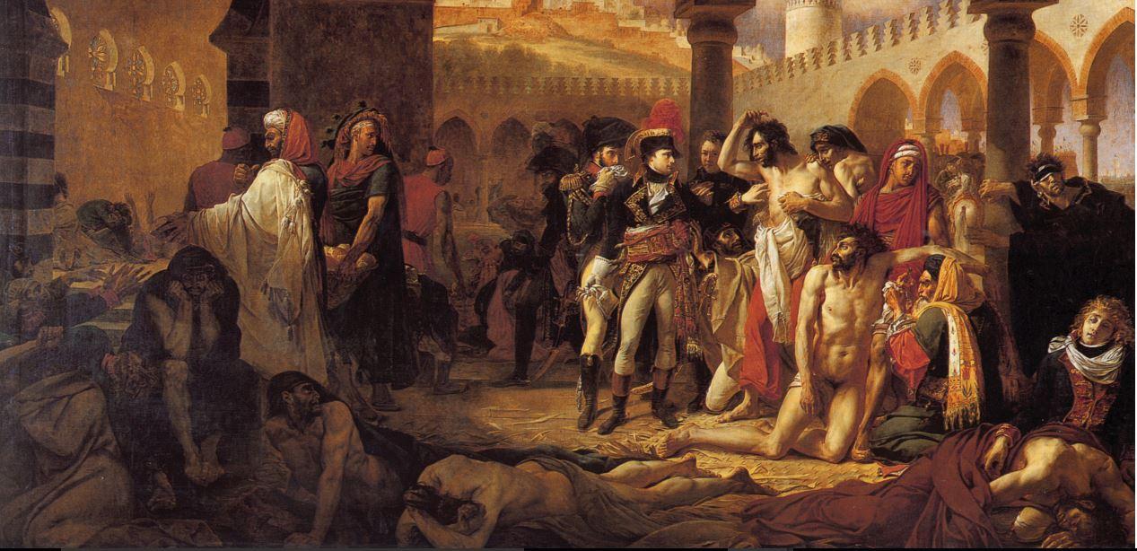 Bonaparte et les pestiférés de Jaffa
