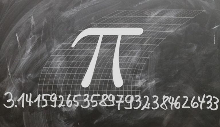 Palimpseste, Pi et Mathématiques