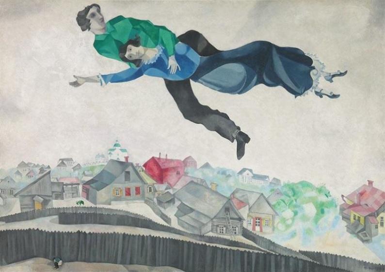 Chagall, Lissitzky, Malévitch, au Centre Pompidou