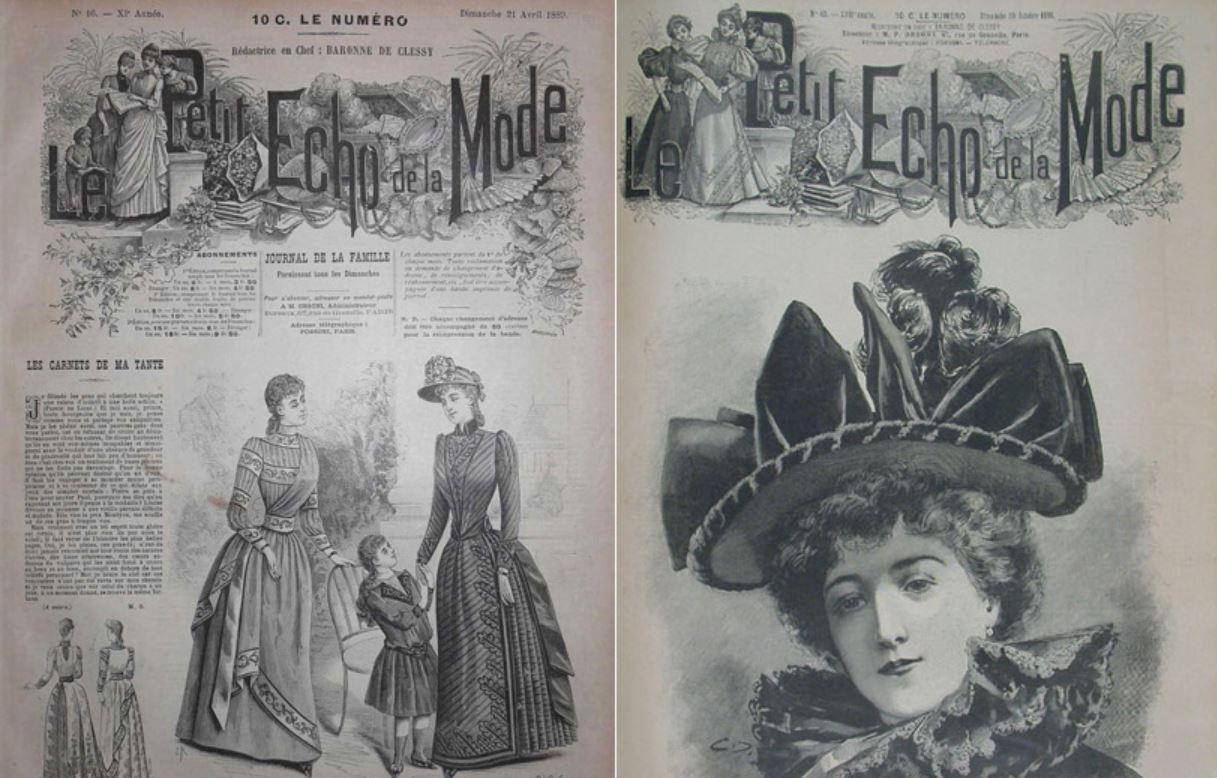 Le Petit Echo de la Mode : le premier magazine féminin !