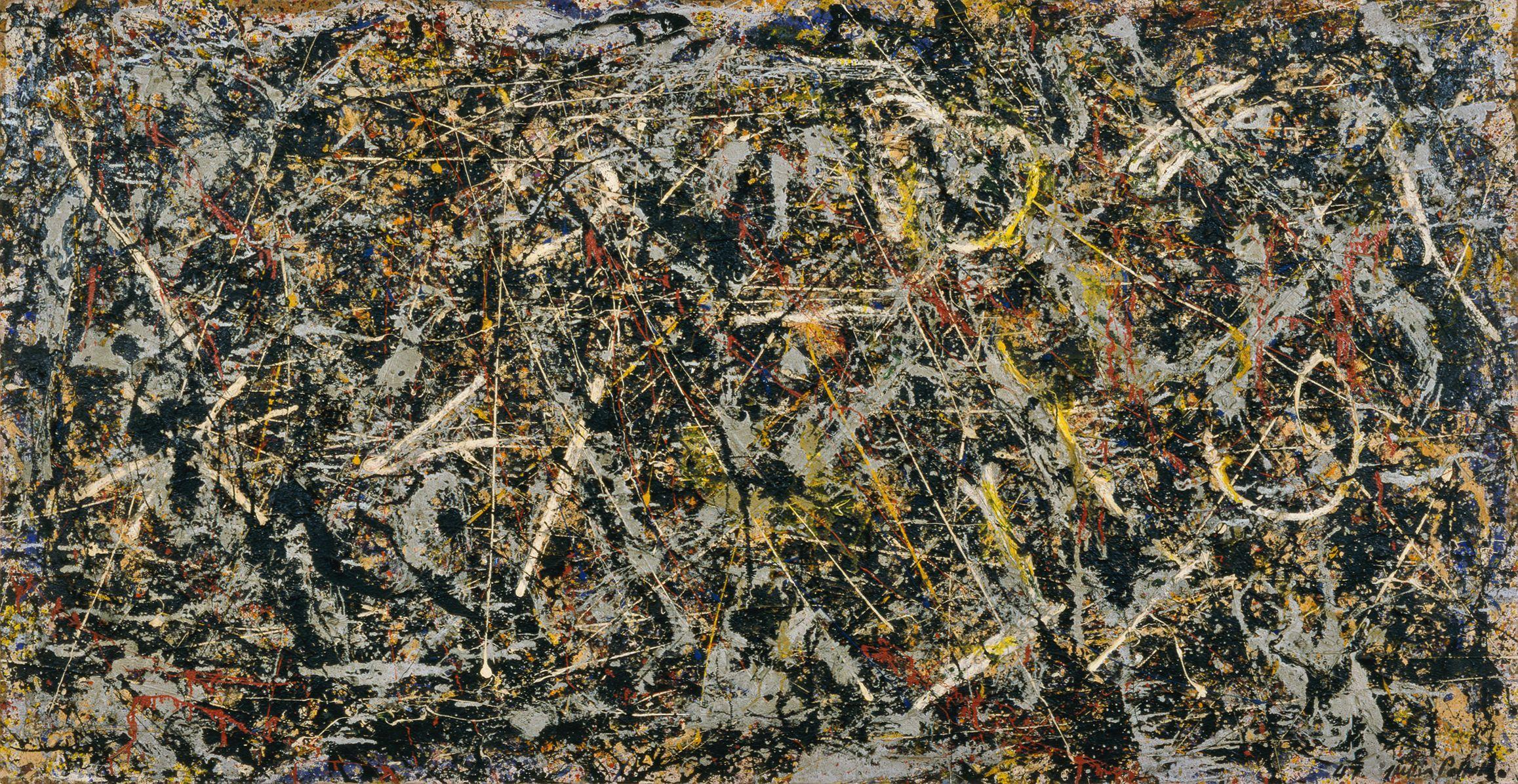 Jackson Pollock, entre les lignes