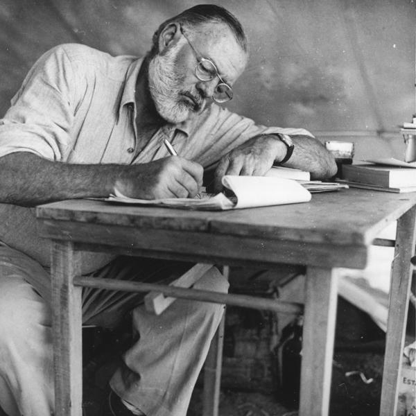 Ernest Hemingway, un américain à Paris