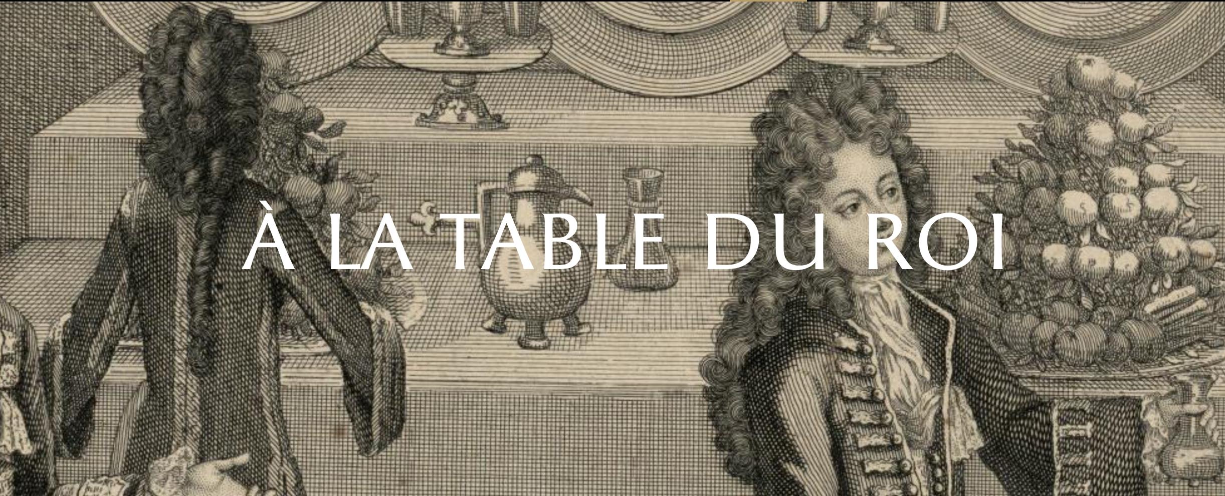 A la table du roi