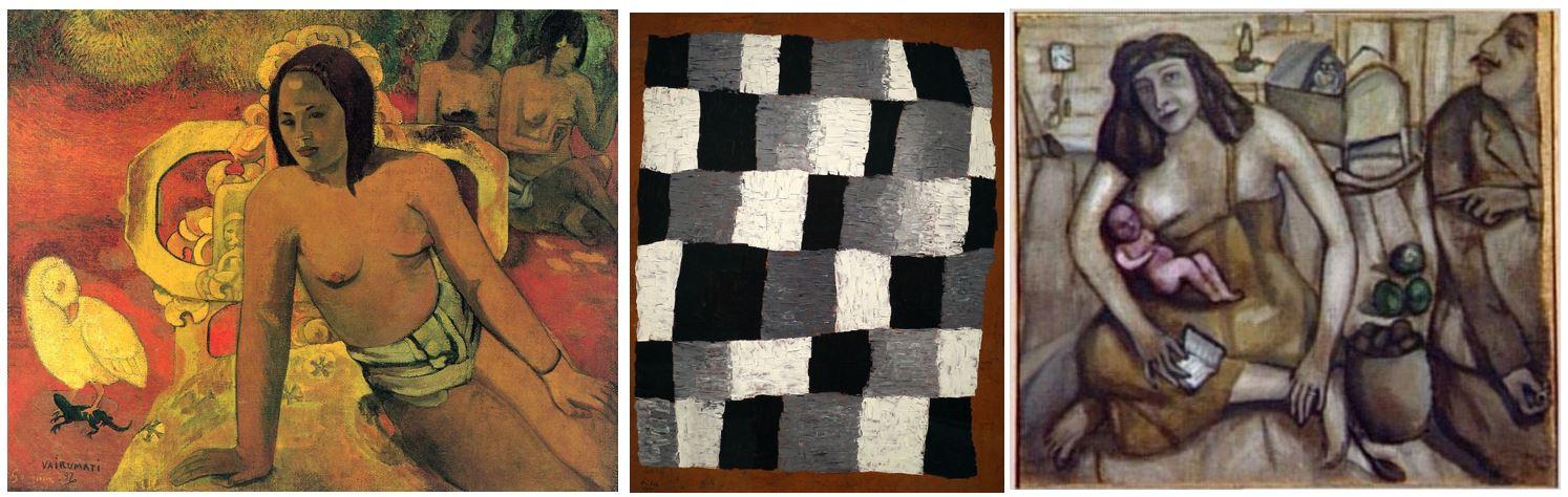 Toile de Jute, Gauguin, Klee, Chagall